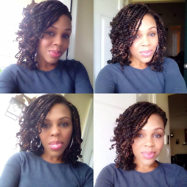 Judys crotchet kinky twist style - Black Hair Information Community