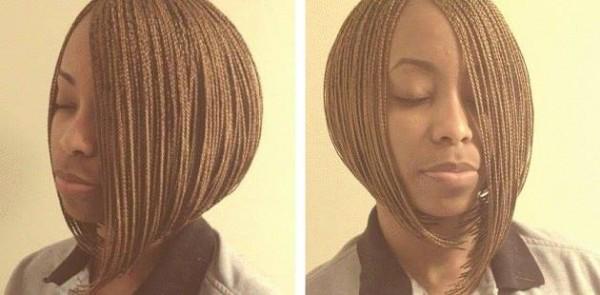 Micro bob plaits by Staci Cook - Black Hair Information Community