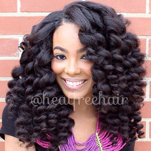 Top image of natural hairstyles with weave floyd donaldson journal more heatfreehair extensions so natural looking black hair 11 quick weave styles pmusecretfo Images