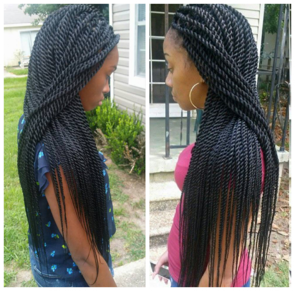 Crochet Hair Rope Twist : Rope twists by @braidsbyguvia