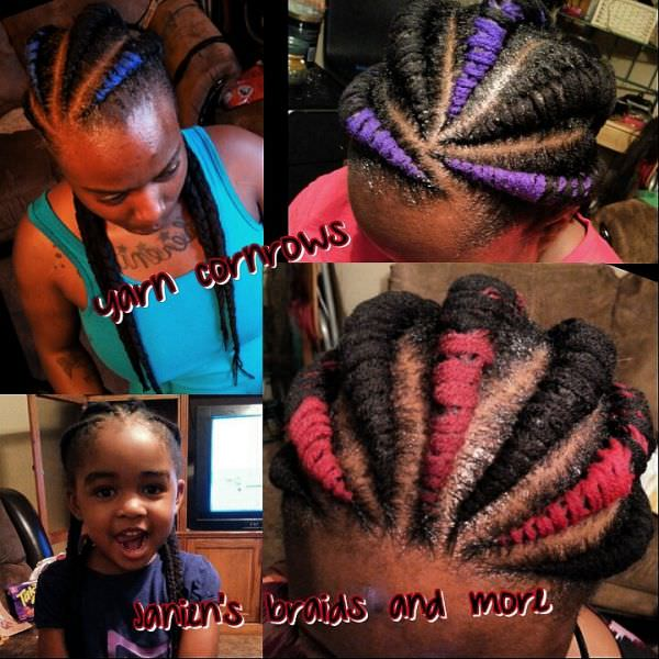 Yarn cornrows - Interesting - Black Hair Information Community