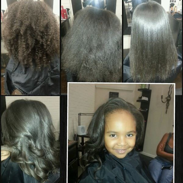 Silk Press Shared By Ashantae Groomes Black Hair