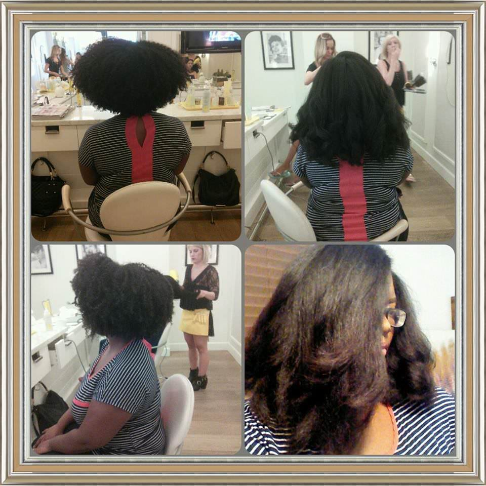 Moisturizing Flat Ironed Natural Hair