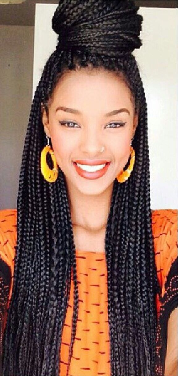 Can Crochet Box Braids Get Wet : Pretty box braids - Black Hair Information Community