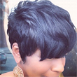 Relaxed hair and styles