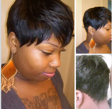 Short Quickweave Picture For Afro American   Short Hairstyle 2013
