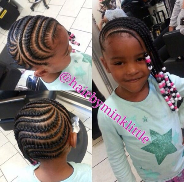 cute country hairstyles : Cute Cornrows And Beads - Black Hair Information Community