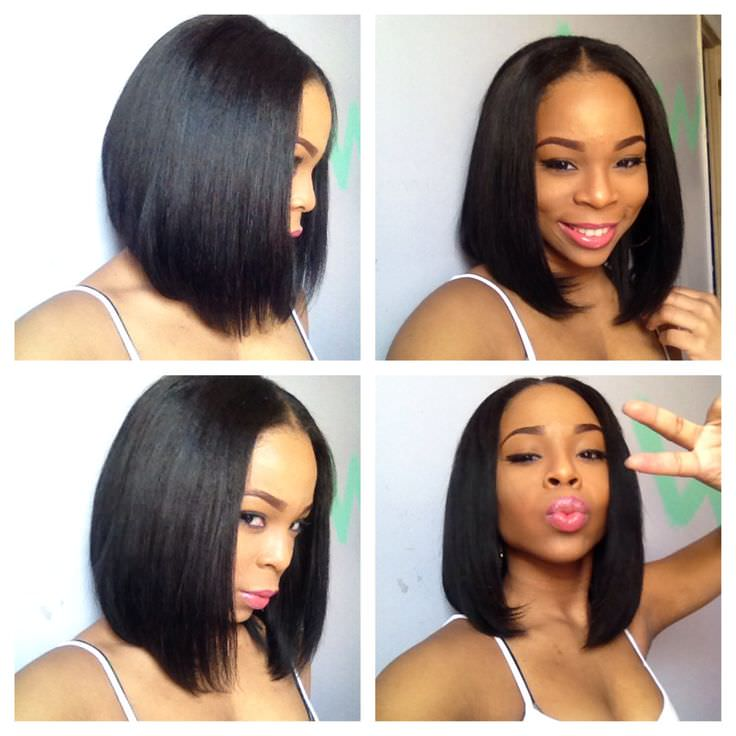 boho chic hairstyles : Bob Sew In Weave Hairstyles Pictures to pin on Pinterest