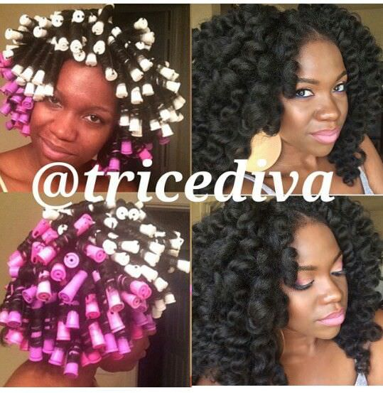 Crochet Hair Rods : Perm Rods Natural Hair