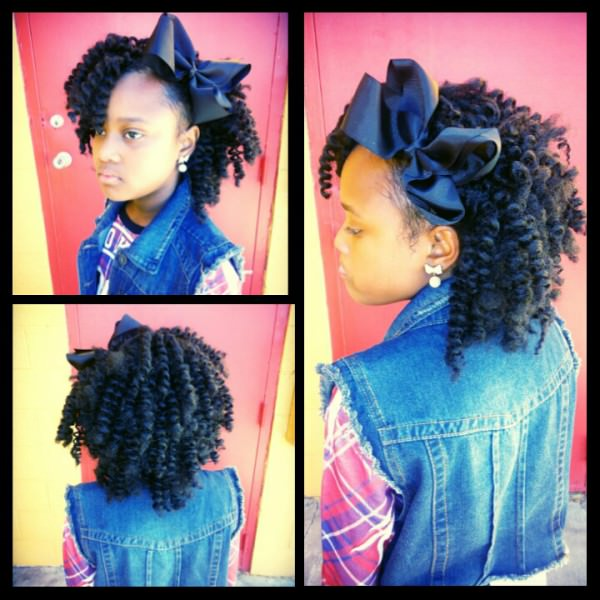 Crochet Hair Styles For Little Girl : ... Braids Hairstyles for Little Girls - Kids Protective Hairstyle