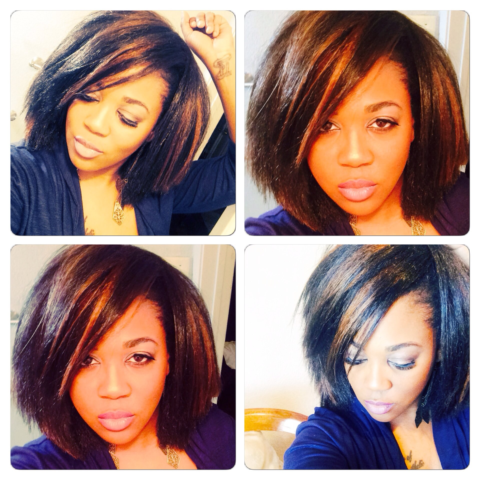 Crochet Hair In A Bob : Pics Photos - Crochet Braid Bob Hairstyle With Kanekalon Hair