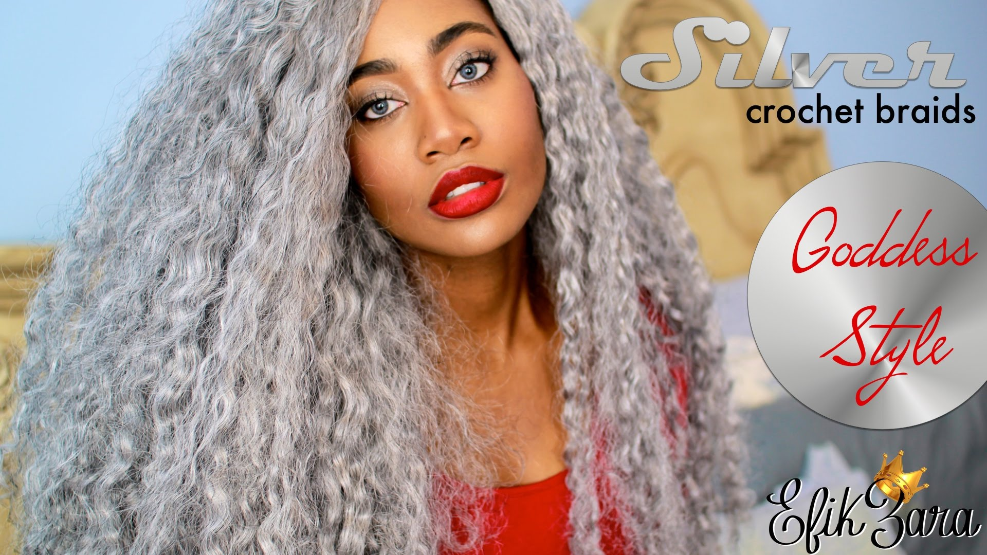 Silver Gray Crochet Braid Hairstyles For Women blackhairstylecuts ...