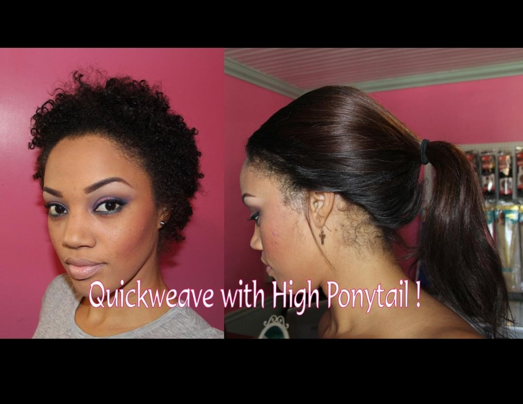 Quick Weave Ponytail Hairstyles Pictures to pin on Pinterest