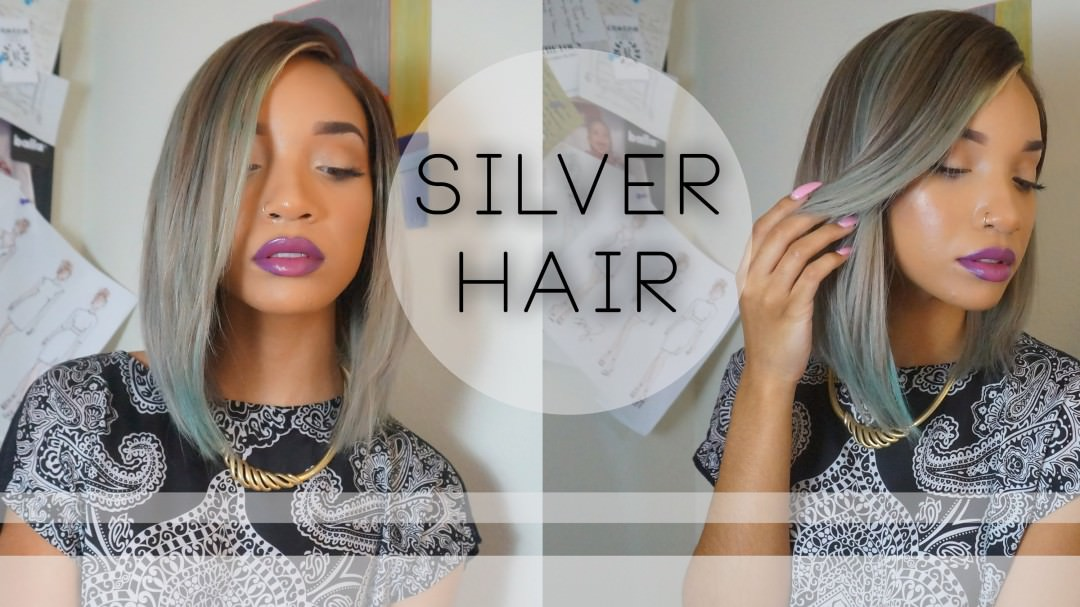 How To Dye Your Wig A Chic Silver Grey With Subtle Colored