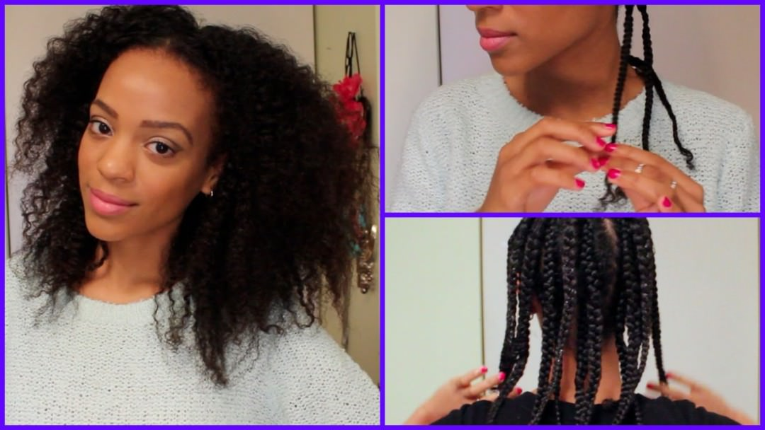 How To Stretch Natural Hair Twists