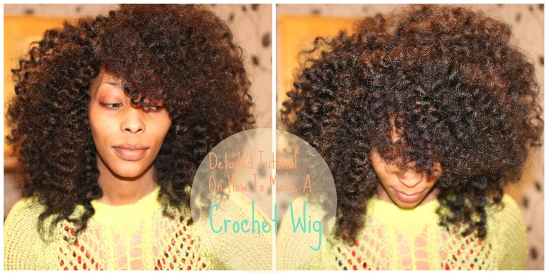 Detailed Tutorial On How To Make A CROCHET WIG [Video] - Black Hair ...