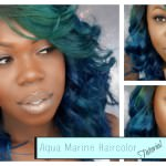 How To Get Brilliant Aqua Hair Color [Video]