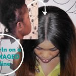 How To Sew In On A Damaged Hairline