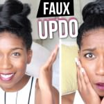 2 Super Easy Faux Updos [Video]