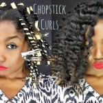 How To: Elongated Curls With Chopsticks [Video]
