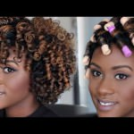 Natural Hair Tutorial: Perm Rod Set [Video]