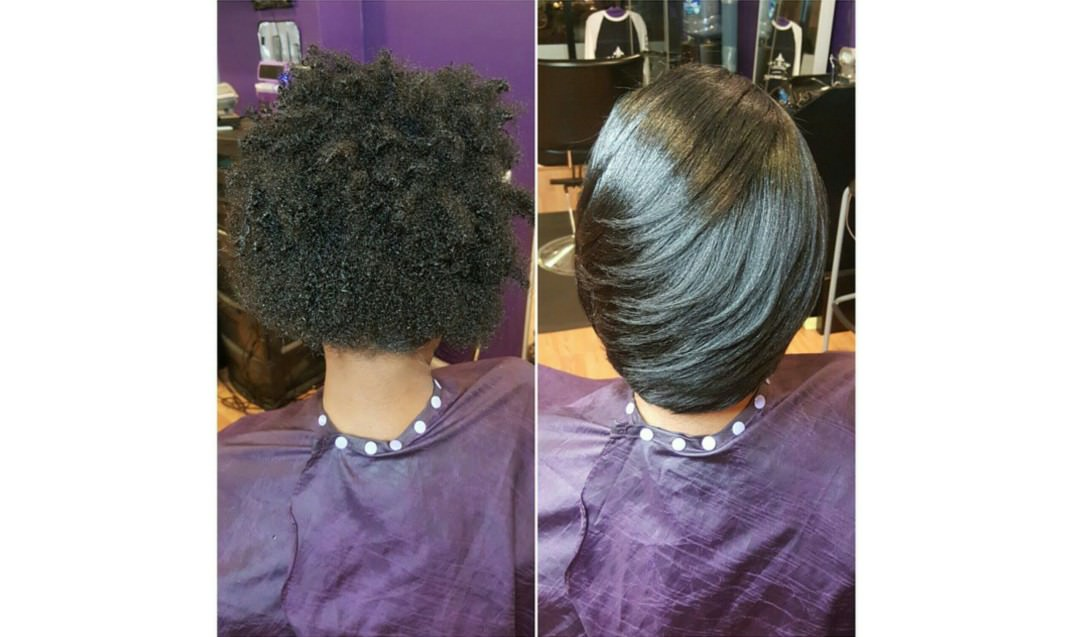 The Saran Wrap Technique Video Black Hair Information