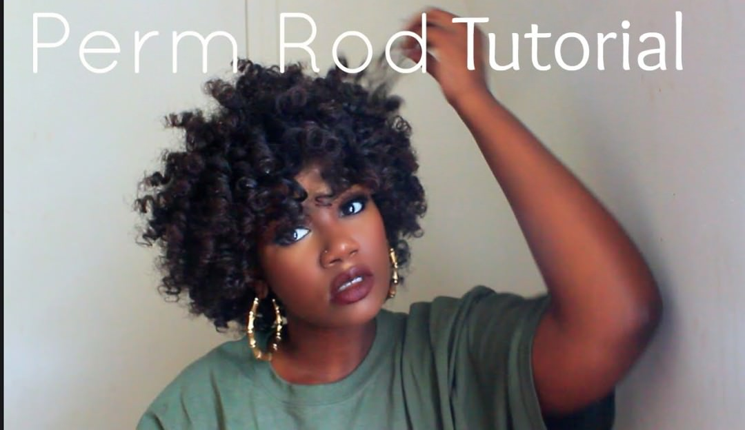 Perm Rod Set Natural Hairstyles For Black Women | Short