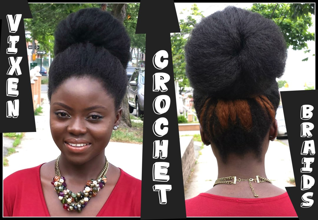 Vixen Knotless Crochet Braids, No Leave Out [Video] - Black Hair ...