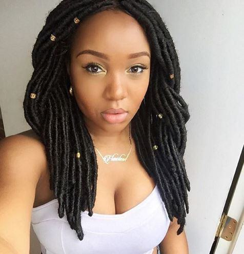 The Cutest Faux Locs With Maryebele Black Hair