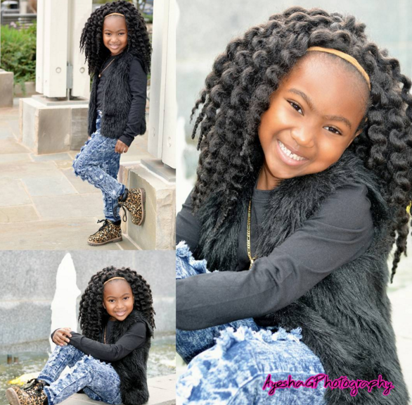 Crochet Braids Kid Friendly : ... more from black hair information kiddie braids cute braids cute braids