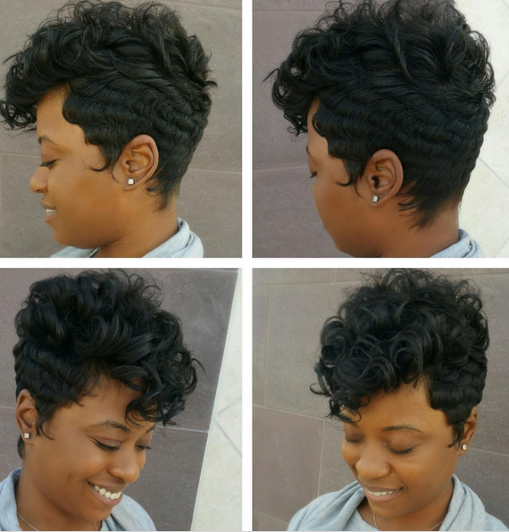 Finger Wave Pin Curl Hairstyles Hairstylegalleries Com