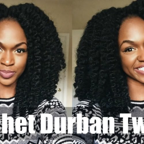 Crochet Braids Underneath : Crochet Braids in Under 1 Hour [Video]