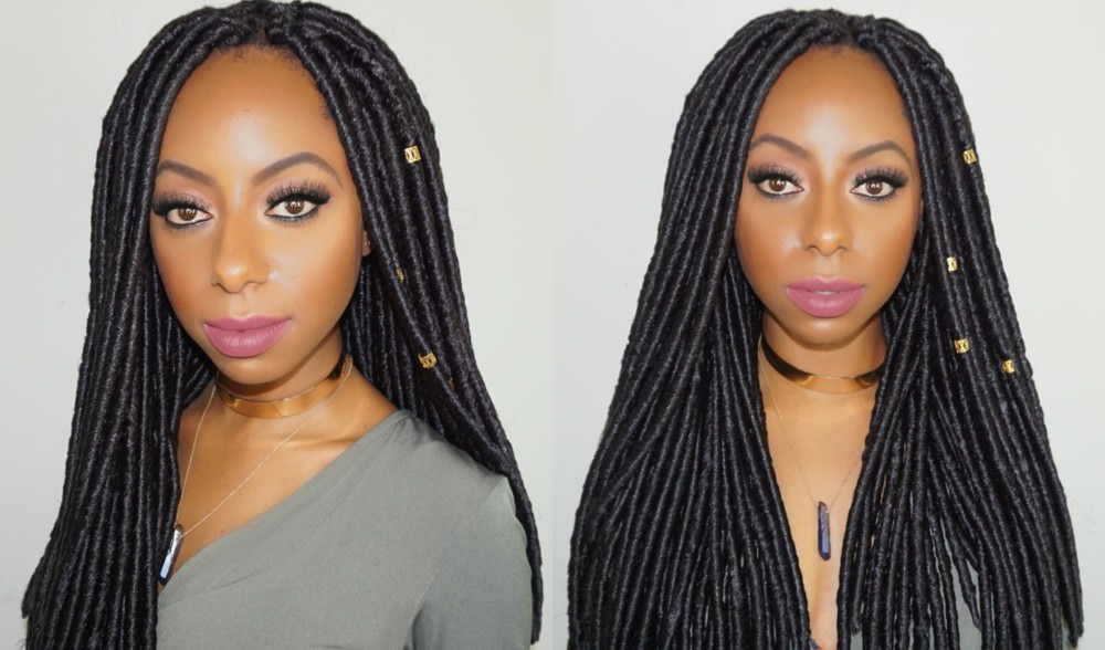 Crochet Braids Faux Locs : How to: Faux Loc Crochet Braids In 2 Hours [Video] - Black Hair ...