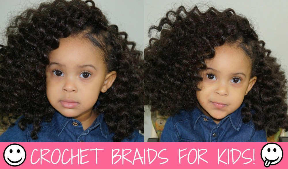 Twist Out Crochet Braids On A Little Girl - Black Hair Information ...
