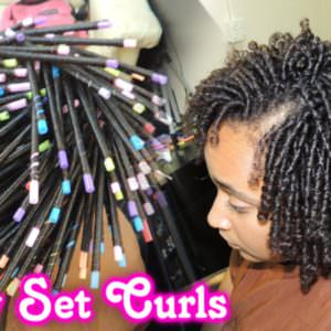 How To Maintain A Straw Set On Natural Hair