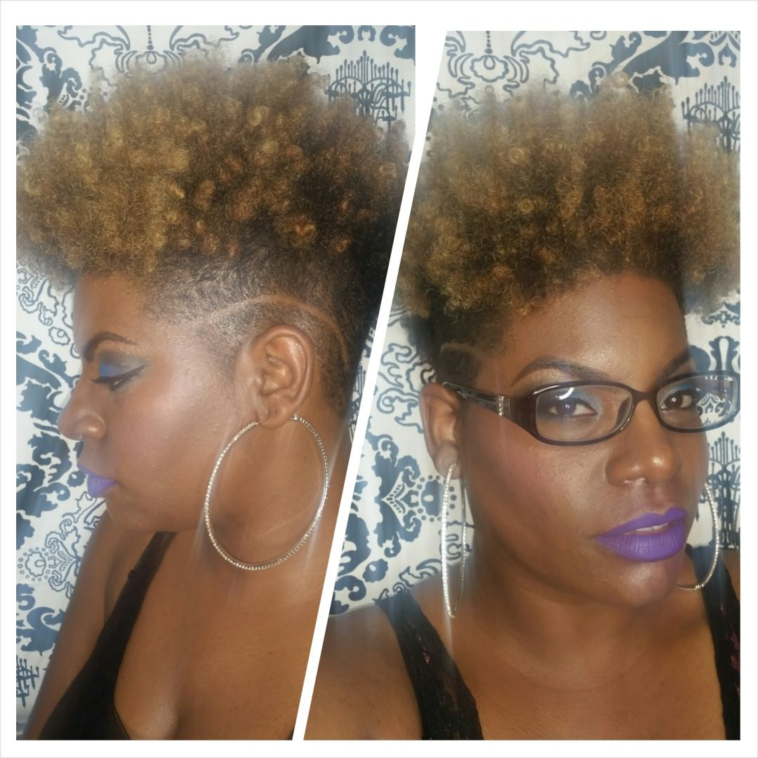 Crochet Braids Tapered Curly Fro