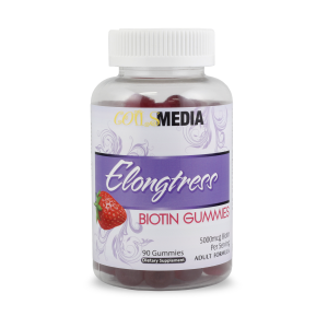 Elongtress Biotin Gummies – 5000mcg – 1 Bottle