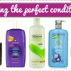 Five different conditioners