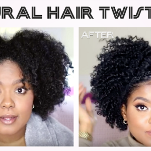 How To Do A Twist Out On Natural Or Relaxed Black Hair