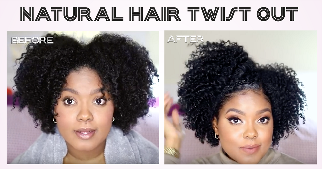 How To Do A Twist Set On Natural Or Relaxed Black Hair