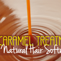 The Caramel Treatment – A Natural Hair Softener