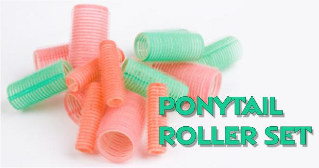 ponytail roller set