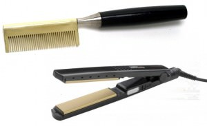 Hot comb and straightener