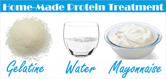 Back To Basics – Home-Made Protein Treatment