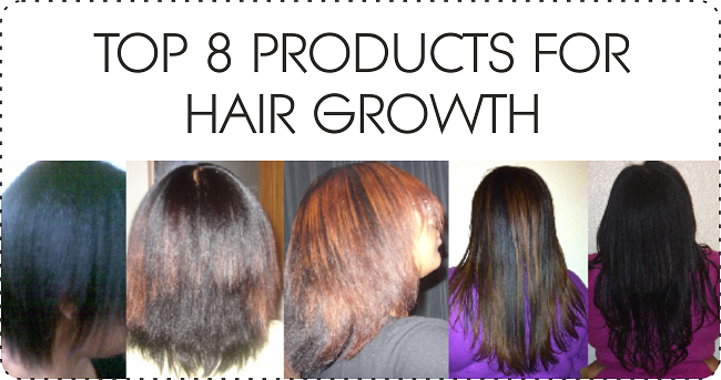 Top 8 products for hair growth for black hair