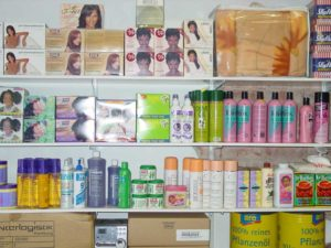 Hypermarkets, Beauty Supply Stores and Lace Wigs