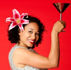 smiling_woman_toasting