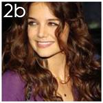 Hair type 2b