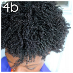Hair type 4b