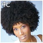 Hair type 4c